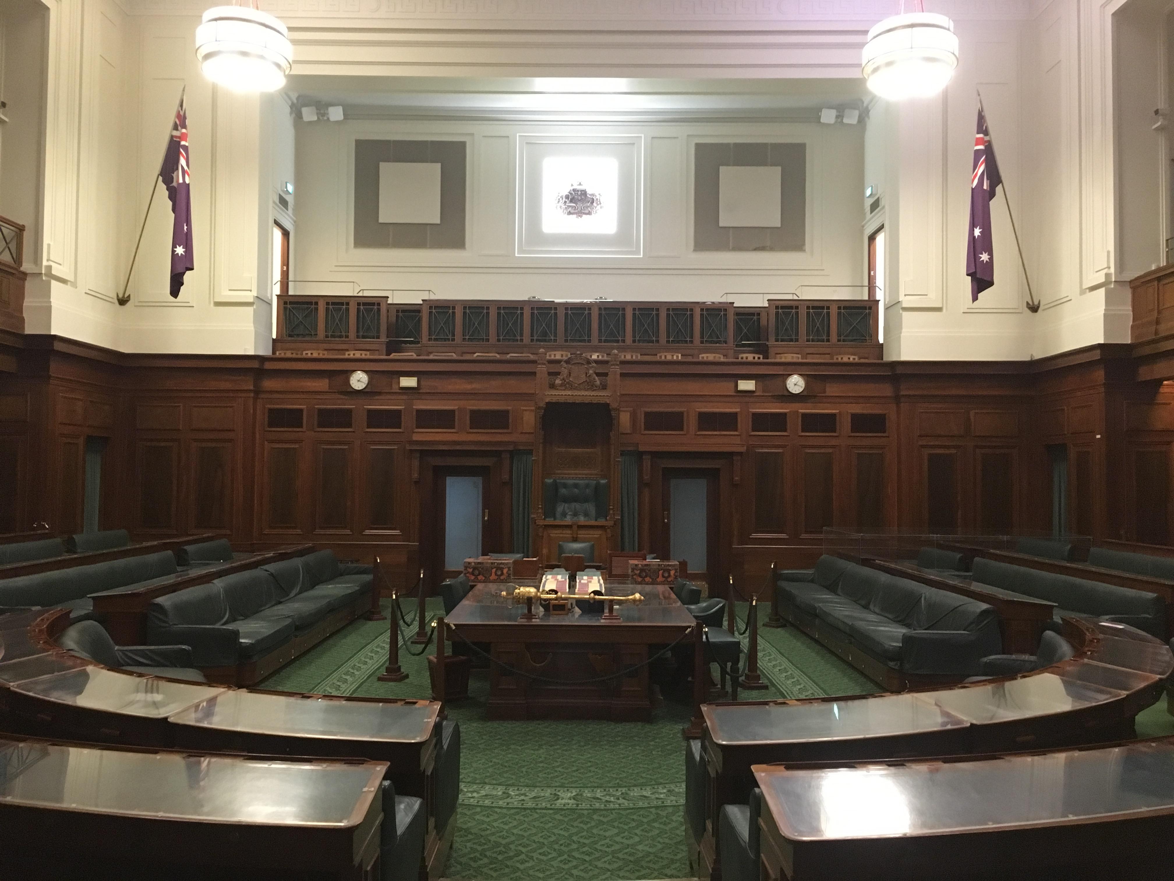 Top Secret Tour of Old Parliament House – TIM the YOWIE MAN